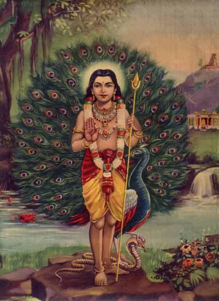 Murugan, o Filho Arquetípico, representado como Sanat Kumara (Eterno Adolescente)