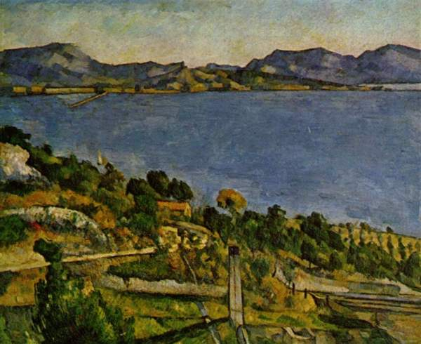 Paul Cézanne: O golfo de Marseille visto de L'Estaque (1878-1879)