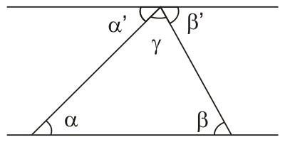 Teorema dos ângulos internos